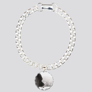 Keeshond at Shadow's Cre Charm Bracelet, One Charm
