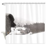 Keeshond at Shadow's Creek Shower Curtain