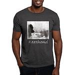 Keeshond at Shadow's Creek Dark T-Shirt