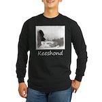 Keeshond at Shadow's Cree Long Sleeve Dark T-Shirt