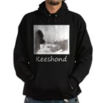 Keeshond at Shadow's Creek Hoodie (dark)