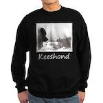 Keeshond at Shadow's Creek Sweatshirt (dark)