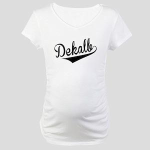 Dekalb, Retro, Maternity T-Shirt