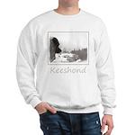 Keeshond at Shadow's Creek Sweatshirt
