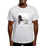 Keeshond at Shadow's Creek Light T-Shirt