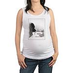 Keeshond at Shadow's Creek Maternity Tank Top