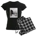 Keeshond at Shadow's Creek Women's Dark Pajamas