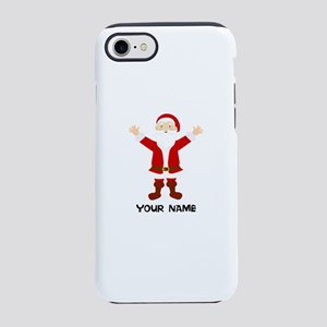 Christmas Santa Personalized iPhone 7 Tough Case