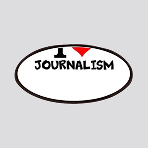 I Love Journalism Patch