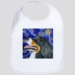 Starry Night Bernese Mountain Bib