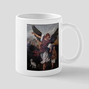 Titian - Archangel Raphael Tobias - 16th Century M