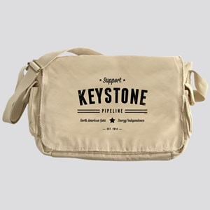 Support The Keystone Pipeline Messenger Bag