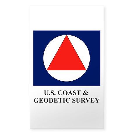 USC&GS Sticker (Rectangular)