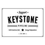 Support The Keystone Pipeline Banner