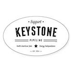 Support The Keystone Pipeline Sticker