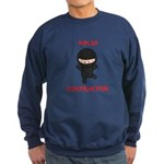 Ninja Contractor Sweatshirt (dark)