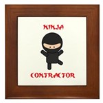 Ninja Contractor Framed Tile