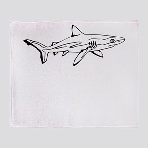Mako Shark Throw Blanket