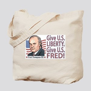 Fred Thompson Liberty Tote Bag