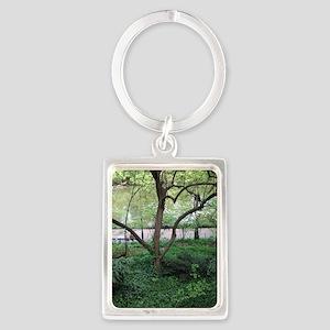 Nature's Eden Portrait Keychain