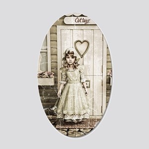 Vintage Girl Wall Decal