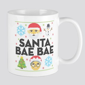 Emoji Santa Bae Bae 11 oz Ceramic Mug