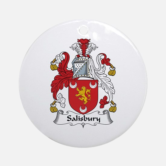 Salisbury Ornament (Round)