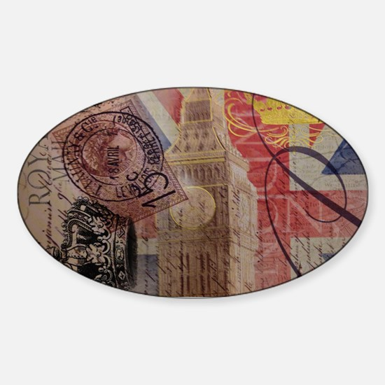 UK flag jubilee vintage decor Decal