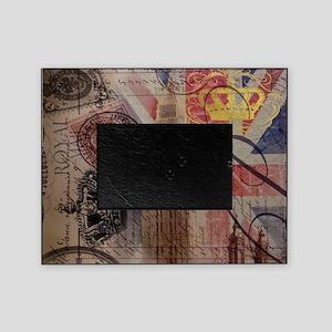 UK flag jubilee vintage decor Picture Frame