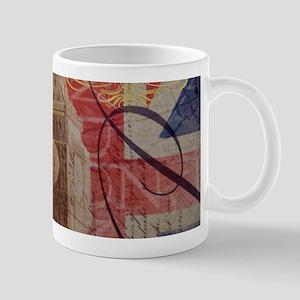 UK flag jubilee vintage decor Mugs