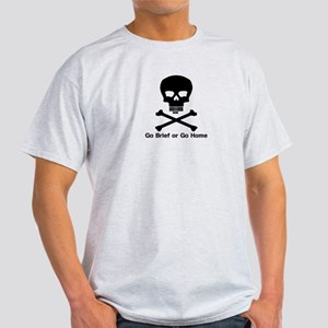 Go Brief Front Black T-Shirt