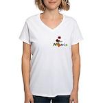 Nigeria Goodies Women's V-Neck T-Shirt