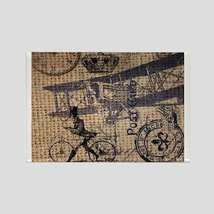 UK vintage bicycle industrial decor Magnets