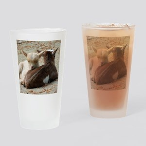 Goat 001 Drinking Glass