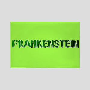 COOL GREEN FRANKENSTEIN Rectangle Magnet