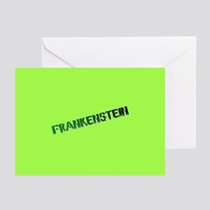 FRANKENSTEIN INVITATIONS/GREETING CARDS
