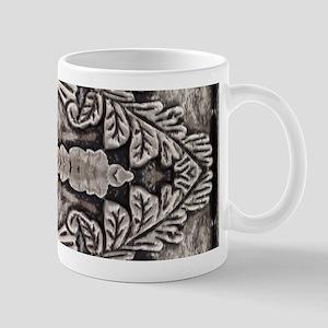 modern floral pattern silver vintage fashion Mugs