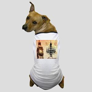 vintage big ben London chandelier UK fashion Dog T