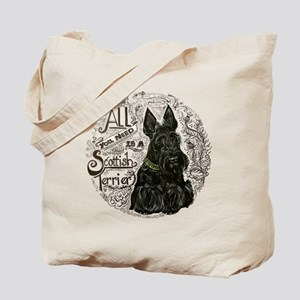 Scottie Basics Tote Bag
