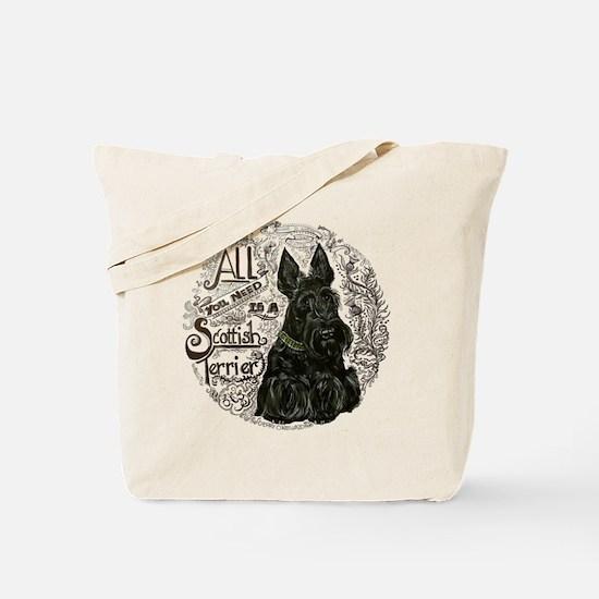 Scottie Basics Tote Bag