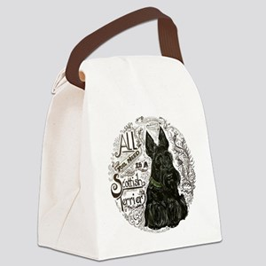 Scottie Basics Canvas Lunch Bag