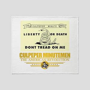 Culpeper Minutemen Throw Blanket