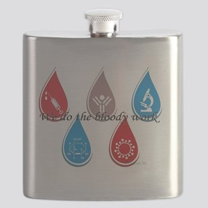 Lab Techs: We do the bloody work Flask