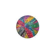 Colourburst Mini Button