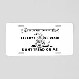 Culpeper Minutemen Aluminum License Plate