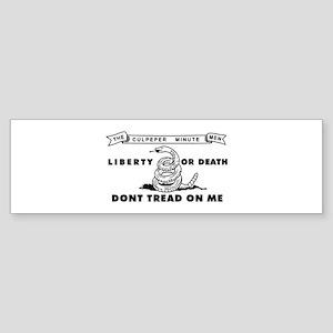 Culpeper Minutemen Bumper Sticker