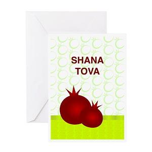 Shana tova greeting cards cafepress m4hsunfo