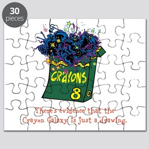Crayon Galaxy Puzzle
