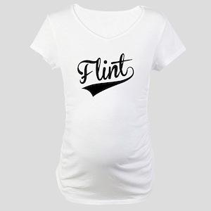 Flint, Retro, Maternity T-Shirt