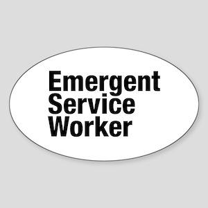 Emergent Service Worker Sticker
